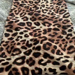 One pink Victoria's Secret cheetah pillow case